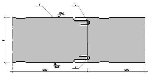 Dodatkowe Płyta ścienna BAAS-PANEL - Informacje techniczne - BAAS-PANEL BR41